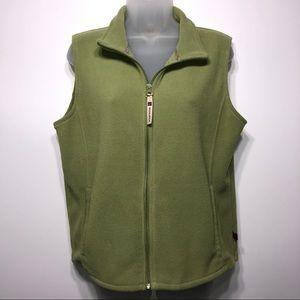 Woolrich Full Zip Sweater Vest Size Medium
